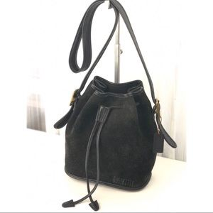 Vintage Coach Black Berkeley Drawstring Bag - 9012
